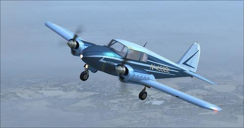 Piper_Apache_150_year_1954_FSX_ ও _P3D_22