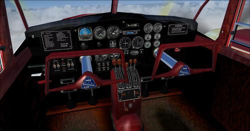Piper_Apache_150_year_1954_FSX_ ও _P3D_33
