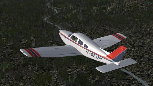 Piper Cherokee Arrow III Turbo FSX & P3D