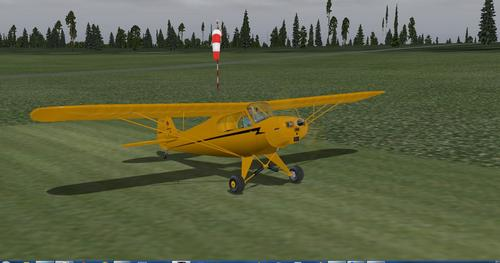 Piper PA-11 Cub Tshwj Xeeb X-Plane  10