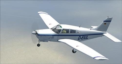 Piper PA-28R-201 Arrow III FSX  &  P3D
