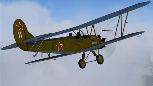 Polikarpov U-2(ポー-2)後期シリーズv1.0 FSX  &  P3D