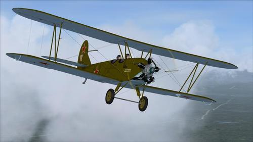 Polikarpov U-2 (Po-2) laharana faran'ny v1.0 FSX & P3D