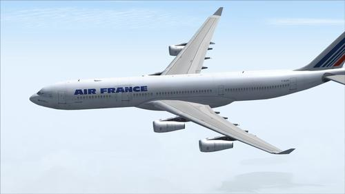 """""""Posky_AIRBUS_A340-300_Air_France_de_Project_Opensky_FS2004_22"""""""