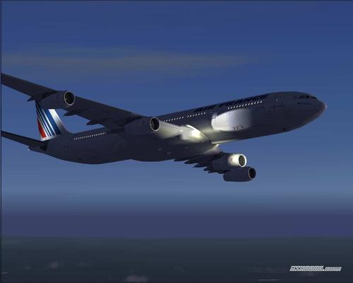 """""""Posky_AIRBUS_A340-300_Air_France_de_Project_Opensky_FS2004_33"""""""