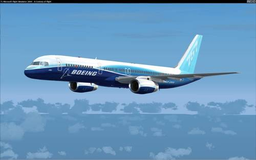 Posky Boeing 757-200 V1 demonstrues FS2004