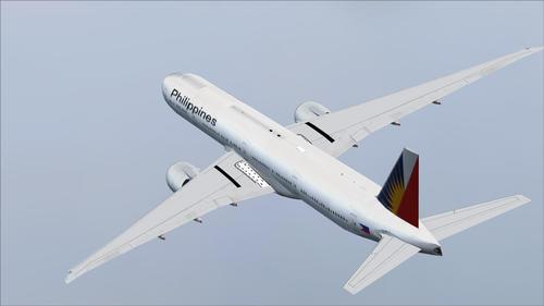 Posky Boeing 777-300ER Filipin Airlines FSX & P3D