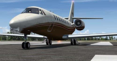 Cessna Citation Sovran FSX  &  P3D