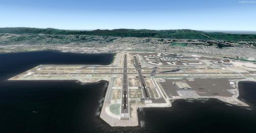San Francisco - Mega Photoreal Scenery FSX & P3D