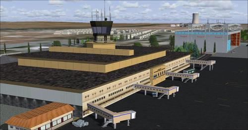 Project Real Aleppo Airport FS2004
