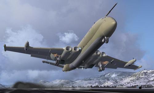 Пакет British Aerospace Nimrod FSX  &  P3D