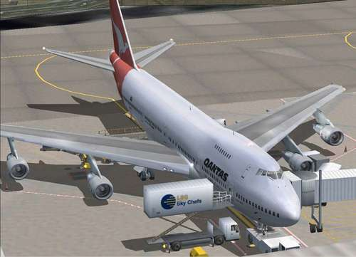 Ready For Pushback Boeing 747-200v2 FS2004