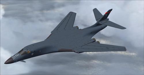 רוקוול B-1B לנסר AlphaSim FSX