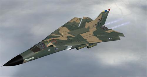SHRS က F-111 Aardvark FSX SP2 & P3D