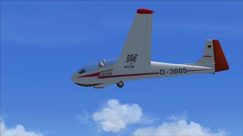 SZD Bocian Glider v6 FS2004