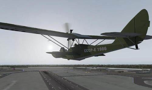 Shavrov 1930 Sh-2 v1.5 X-Plane  9