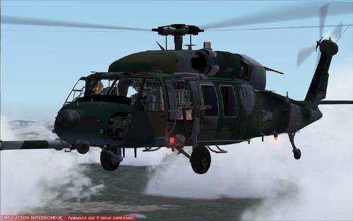 سیکورسکی UH-Pavehawk 60 FS2004