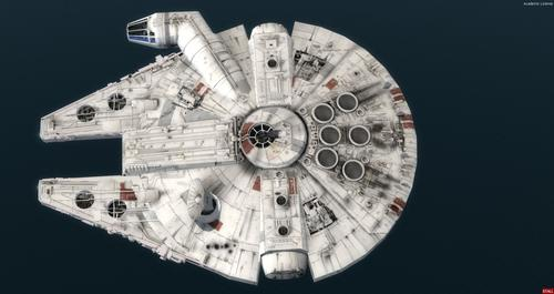 Star Wars Μιλένιο Falcon FSX  &  P3D
