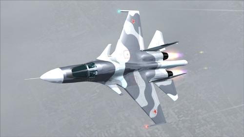 Sukhoi Su-34 Streic blaenasgellwr FS2004