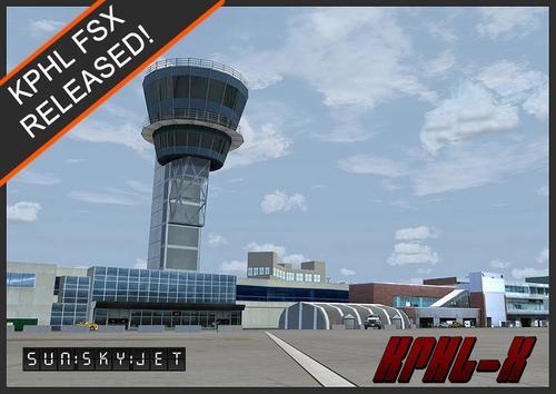 Sunskyjetフィラデルフィア国際空港KPHL FSX  &  P3D