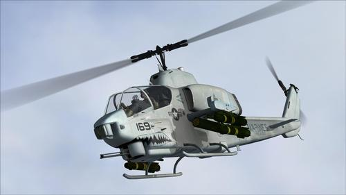 AH-1W စူပါ Cobra AlphaSim FSX