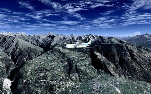 The Alpes - Val d'Aosta FSX & P3D