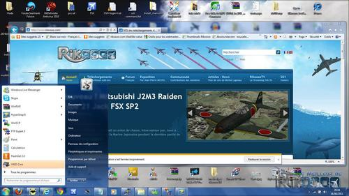 Official Theme Rikoooo July - Windows 7