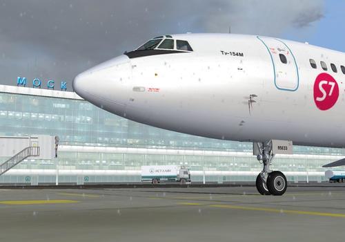 טופולב Tu-154m v2.03 פרויקט טופולב FS2004