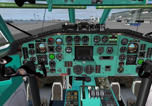 Tupolev ማ-154m v2.03 ፕሮጀክት Tupolev FS2004