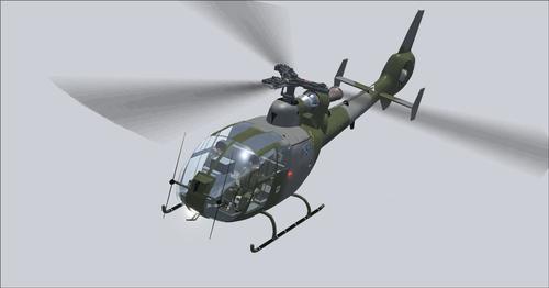 UKMIL Gazelle AH1-pakket FSX  &  P3D