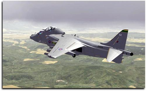 Package ea UKMIL Harrier FSX  &  P3D
