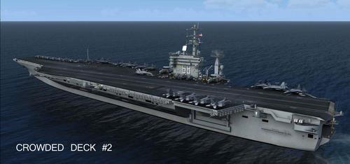 USS Nimitz และ USS Eisenhower V2 FSX  &  P3D