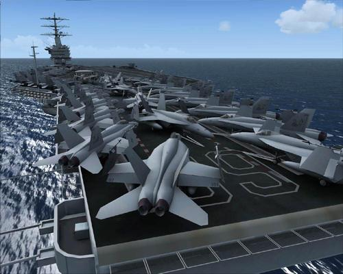 USS_Nimitz _ & _ USS_Eisenhower_22