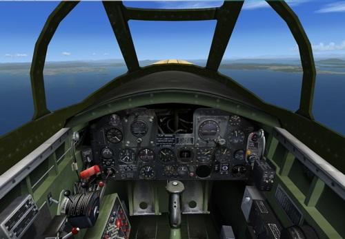 Vultee XP-54 FSX & P3D