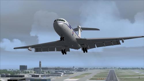 فيكرز VC10 C1K RAF FS2004