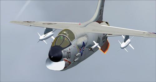 Ұрысқан CrusaderF8 v1.00 FSX  &  P3D