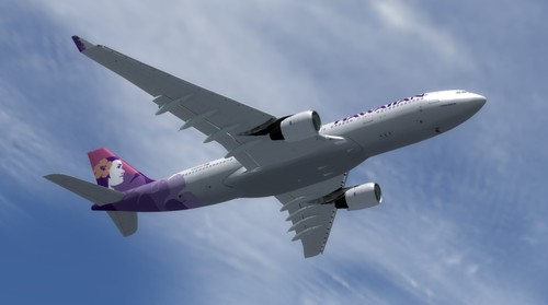 Airbus A330-200 Dan Airlines FSX  &  P3D