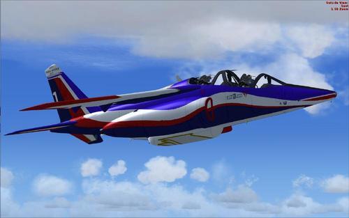 Informacije o preduzeću Naziv preduzeća Alpha Jet-E Patrouille de France Proizvodi i usluge Flyboys FSX