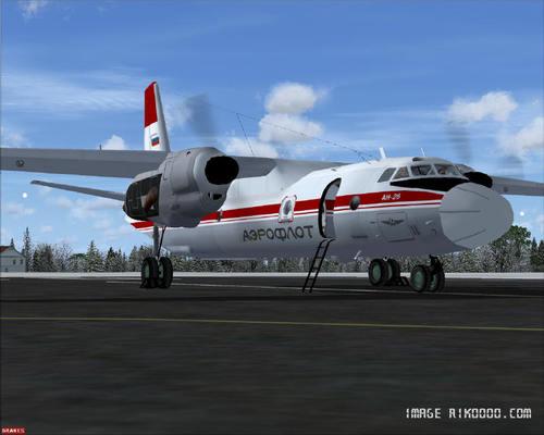 एन्टोनभ AN-26 FSX  &  P3D