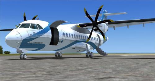ATR 42-500 සහ 72-500 ඇසුරුම FSX  &  P3D