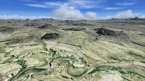 Big Bend National Park Part1 FSX  &  P3D