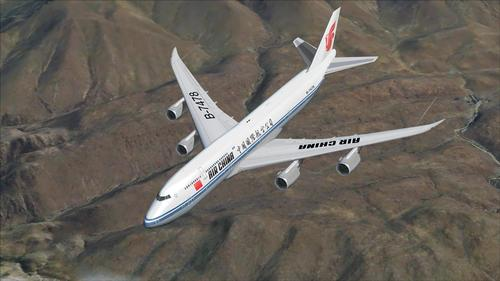 Boeing 747-8i Air China Package FSX & P3D