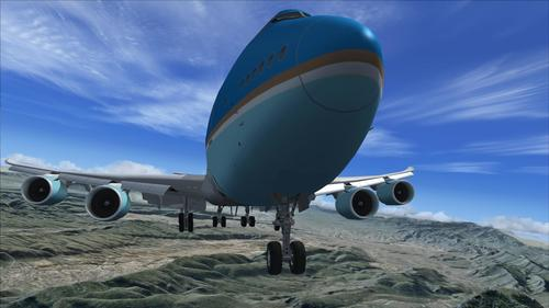 Boeing 747-8i Air Force One-pakket FSX  &  P3D
