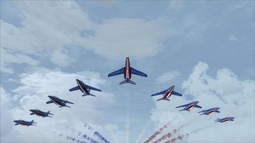 Dassault / Dornier AlphaJet PAF FSX  &  P3D