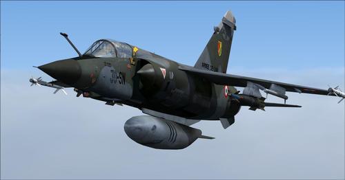 Pacáiste Mega Dassault Mirage FSX  &  P3D