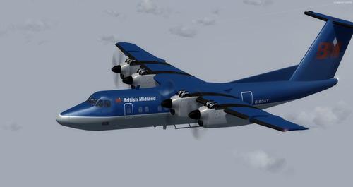 de Havilland ປະເທດການາດາ DHC-7 10 ຕັບ FSX & P3D