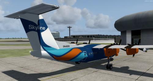 de Havilland ປະເທດການາດາ DHC-7 12 ຕັບ FSX & P3D