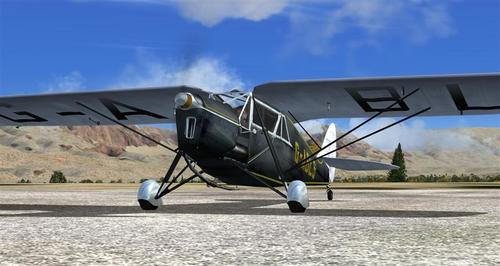 De Havilland DH-80A Puss Moth FS2004