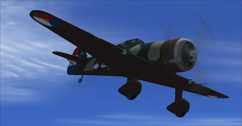 แพ็คเกจ Fokker D.21 v2.0 FSX  &  P3D
