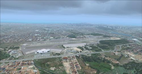 Fortaleza City + Airport Photoreal FSX  &  P3D